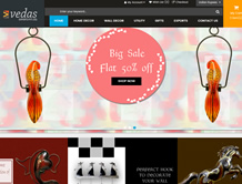 Vedas Exports Ecommerce Store